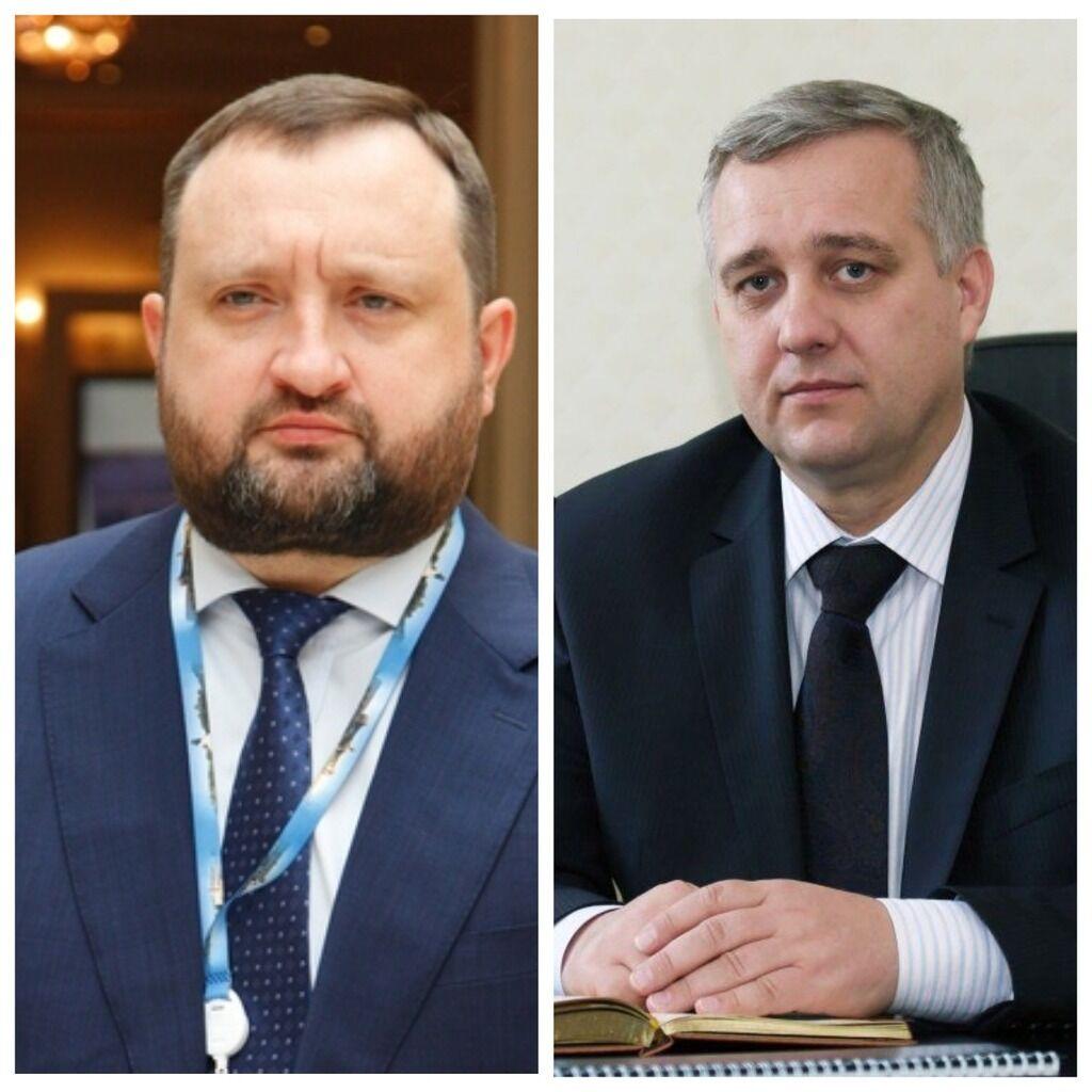 Сергей Арбузов и Александр Якименко