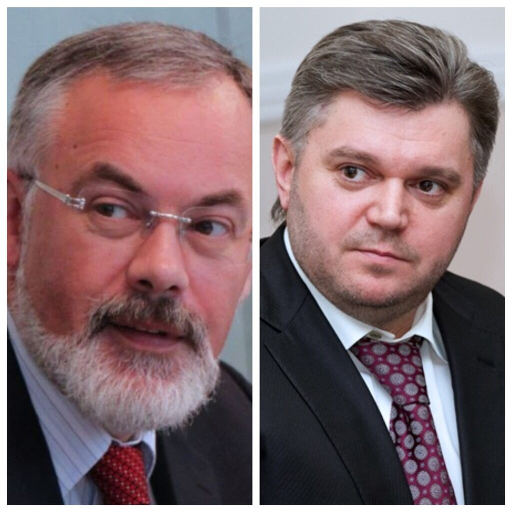 Дмитрий Табачник и Эдуард Ставицкий