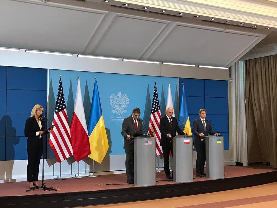 Украина. Польша и США подписали меморандум по энергетике