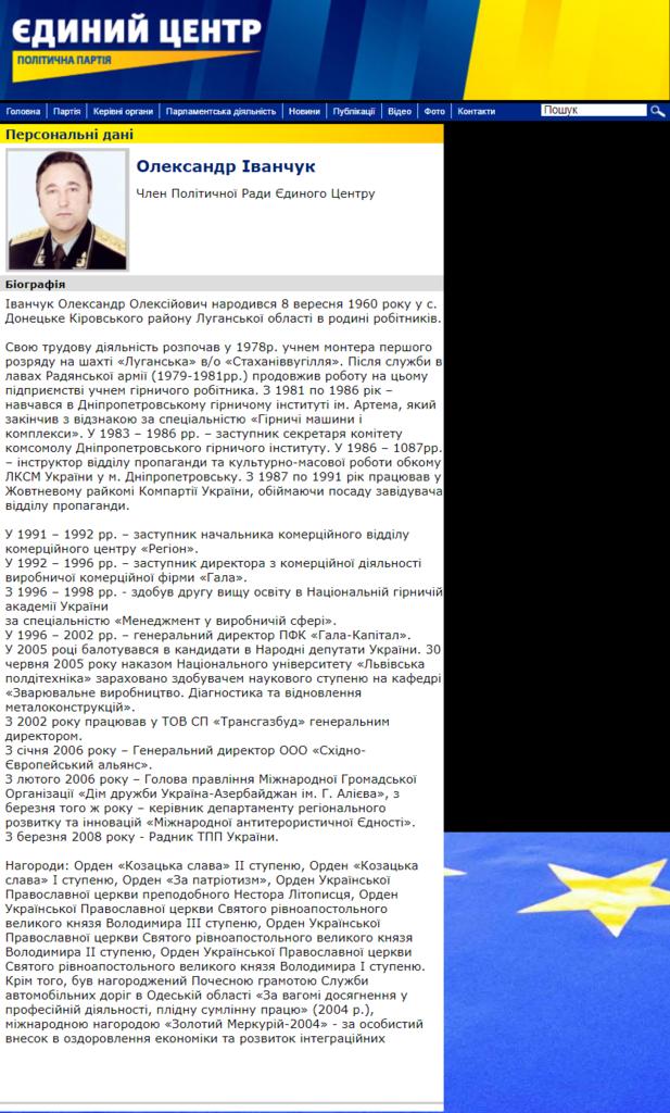Биография Александра Иванчука