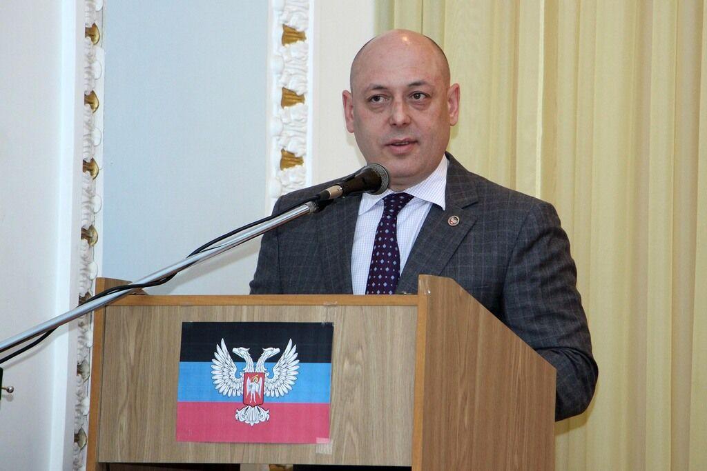 """Колишній """"міністр транспорту ДНР"""" Ігор Андрієнко"""