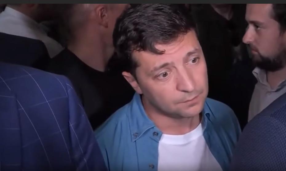 Владимир Зеленский отвечает журналистам