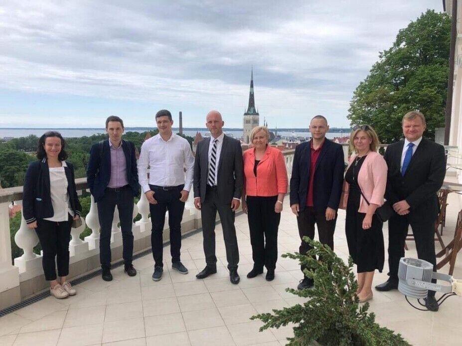 Візит української делегації до Естонії