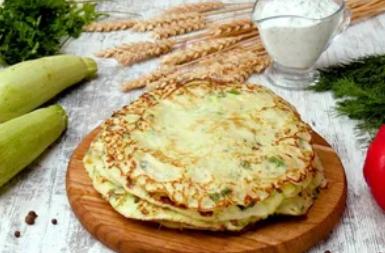 Рецепт вкуснейших блинов из кабачков