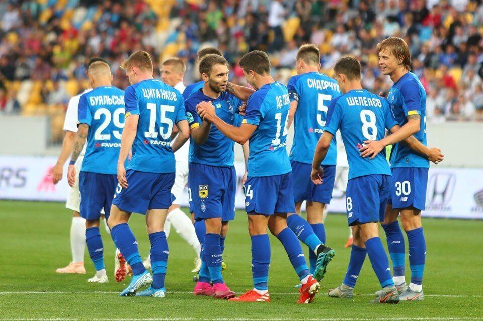 "У перших трьох матчах сезону ""Динамо"" здобуло три перемоги"