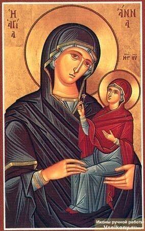 Праведна Анна, мати Богородиці