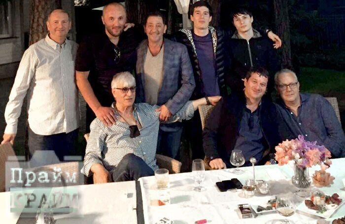 Григорий Лепс с друзьями