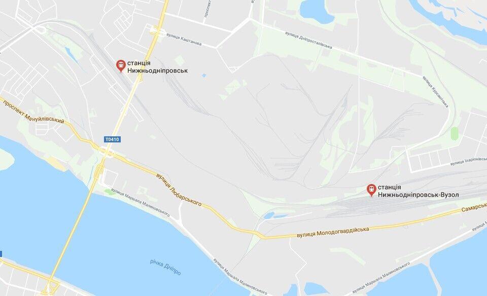 На Левом берегу Днепра есть три остановки