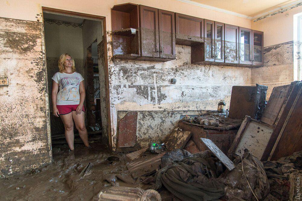 Наслідки селевого потоку в Одеській області