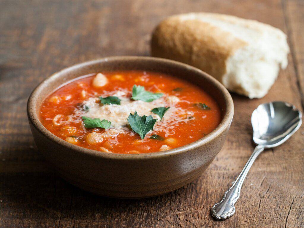 Рецепт смачного супу з помідорами