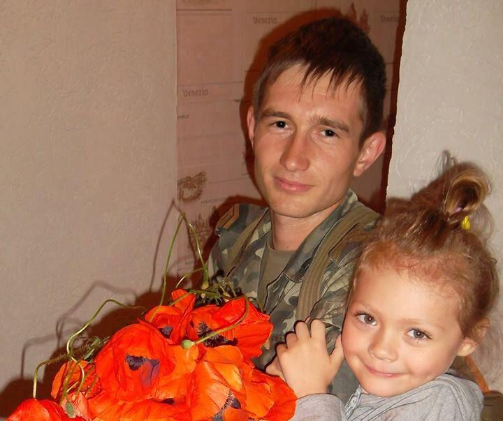 Андрей Мансуров с дочкой