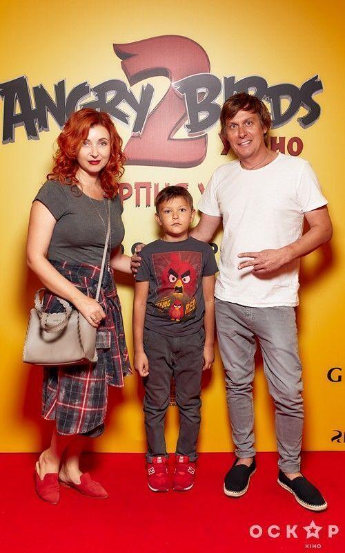 Сергій Казані зі своєю сім'єю