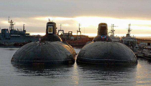 Атомные подлодки в Неноксе