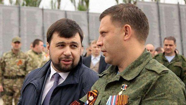 Денис Пушилин и Александр Захарченко