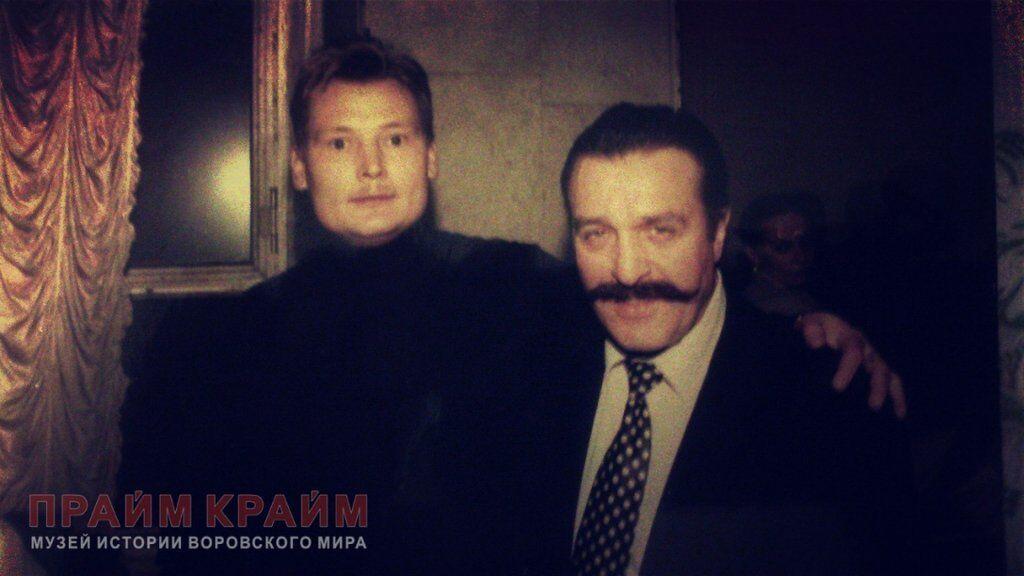 Станислав Нефедов (Славик Бакинский) и Вилли Токарев