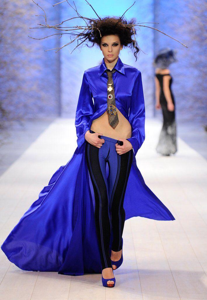 Платье из коллекции ZALEVSKIY осень-зима 11-12