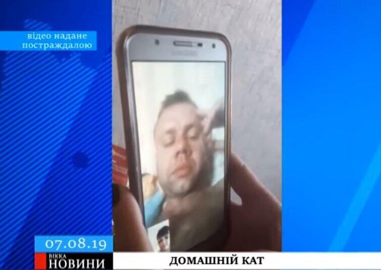 Тиран записав відеозвернення до побитої жінки