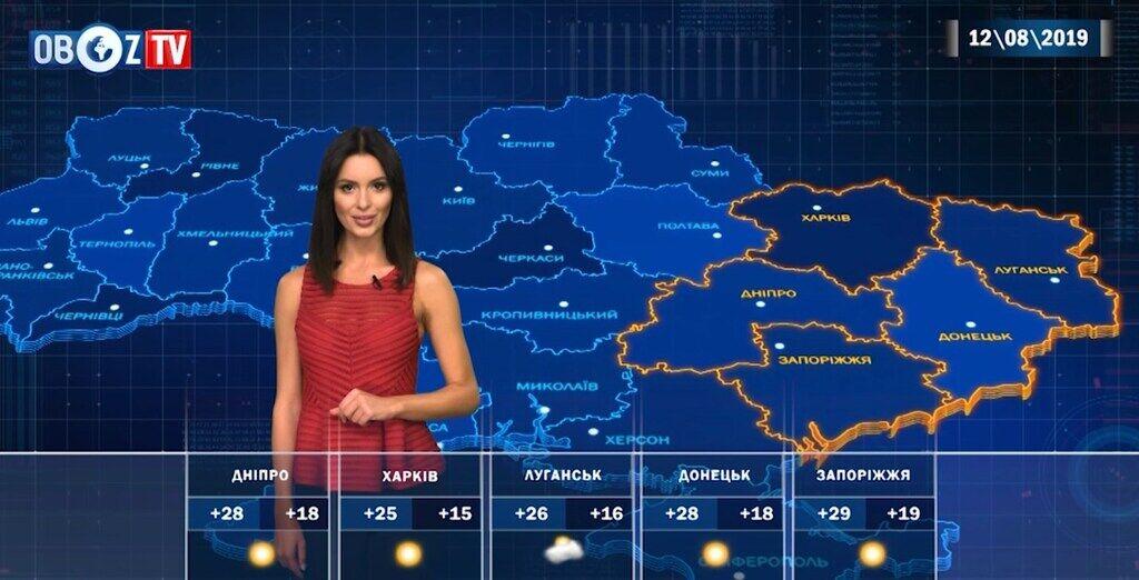 Понеділок в Україні буде спекотним: прогноз погоди від ObozTV
