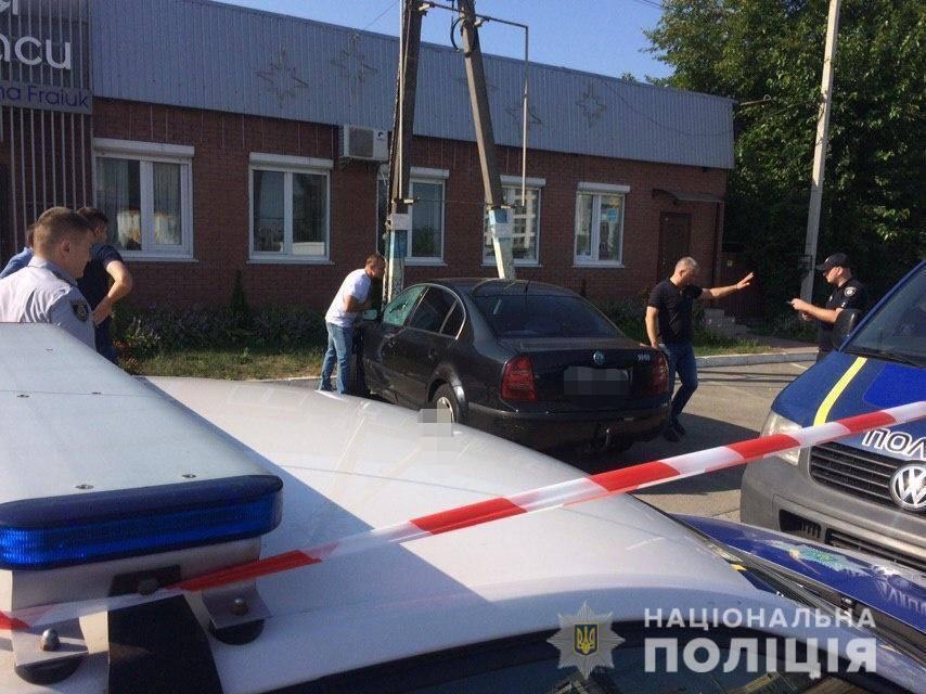 Під Києвом знайшли труп з простреленою головою: фото і відео