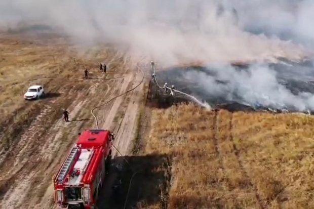 Пожежа під Харковом