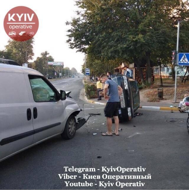 В городе Боярка Киевской области произошло масштабное ДТП