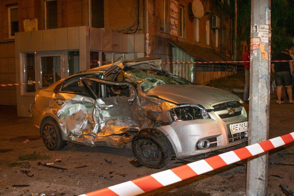 Аварія трапилася на перехресті Поля і Ульянова