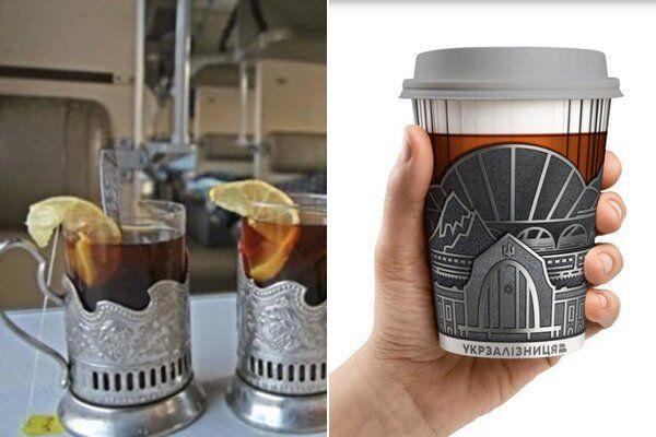 Старі склянки в поїздах і нова пропозиція