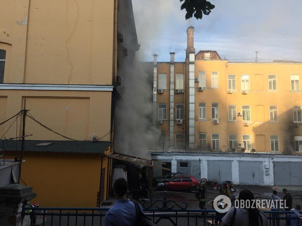 Пожежа у столиці