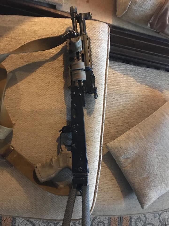 У його помешканні виявили ще 2 гранати та вогнепальну зброю