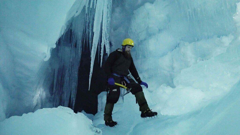 """Загублена"" печера в Антарктиді"