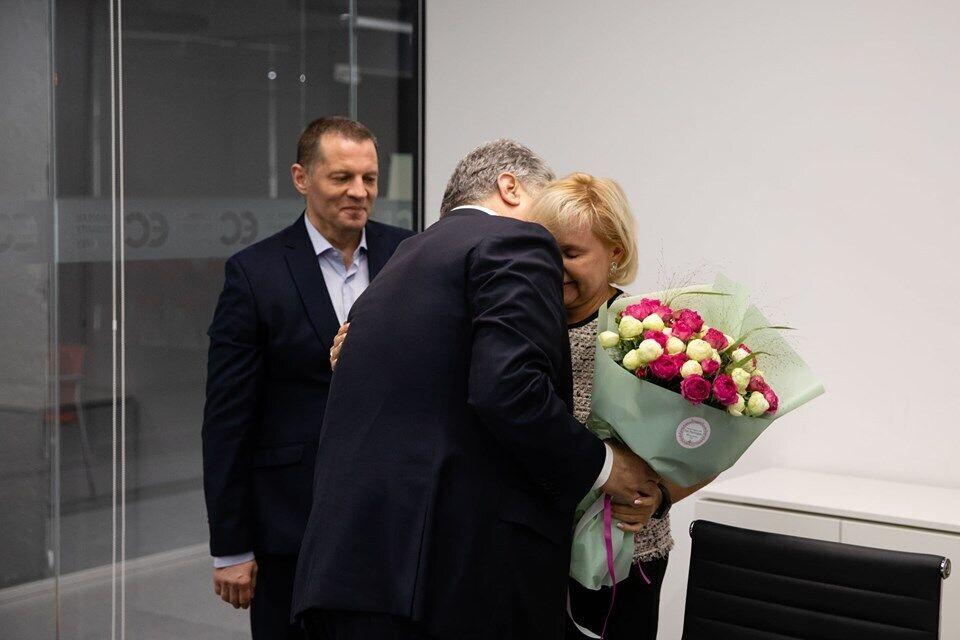 Петр Порошенко и Анжела Сущенко