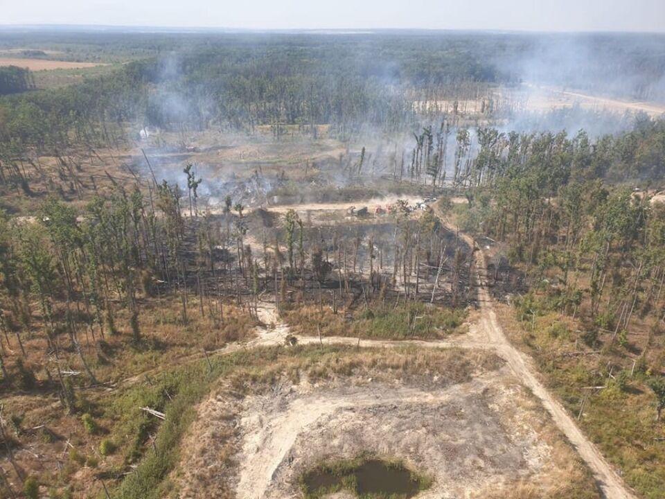 Місце вибуху боєприпасів