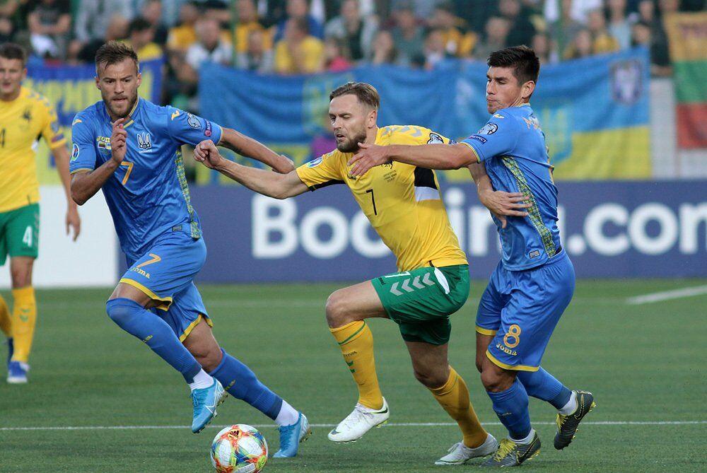 З Литвою в першому матчі в українців все пройшло без проблем