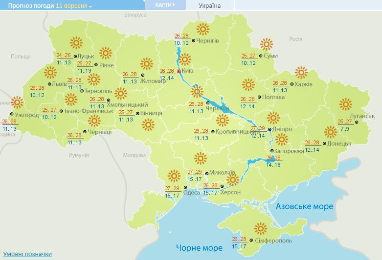 Забудьте о дождях: синоптики уточнили прогноз погоды в Украине