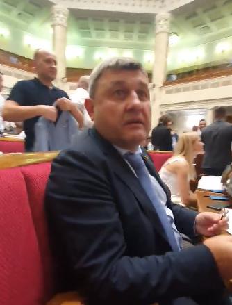 Кнопкодава Литвиненко отчитали в Раде