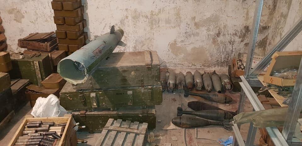 Переданное добробатами оружие