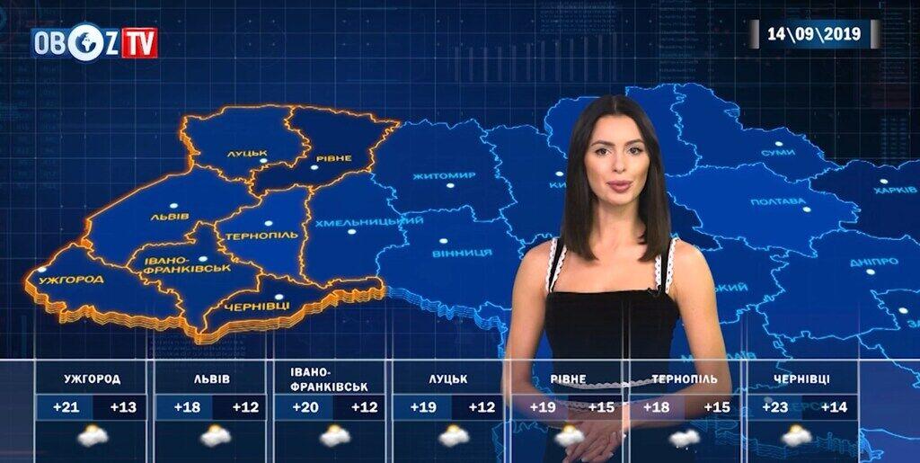 Погода в Україні зіпсується: прогноз на 14 вересня від ObozTV