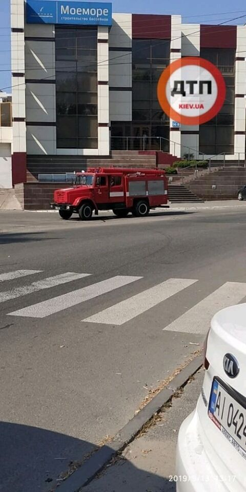 На место ЧП прибыли спасатели ГСЧС