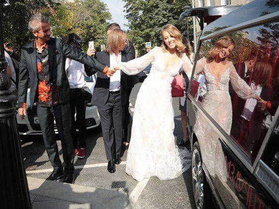 Весілля Собчак і Богомолова
