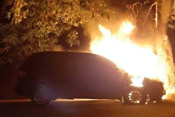 У Черкасах спалили авто Ярослава Нищика