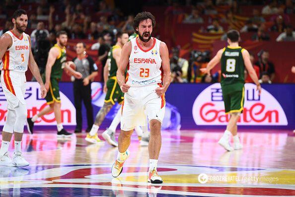 Испания — Австралия