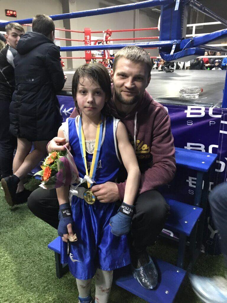 11-летняя Лера вместе с тренером