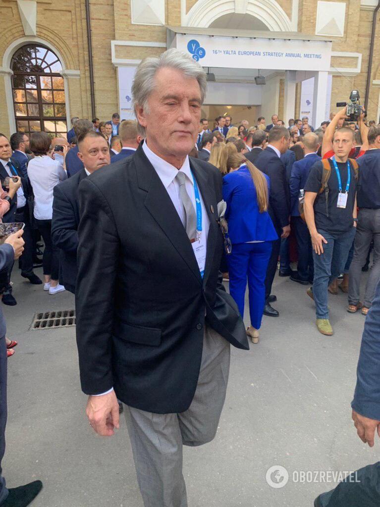 Третий президент Украины Виктор Ющенко