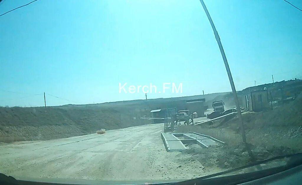Під'їзд до Кримського мосту