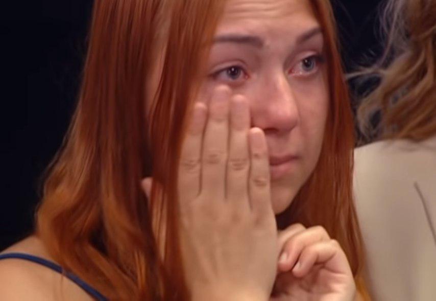 Дочь Людмилы Базелюк не могла сдержать слез