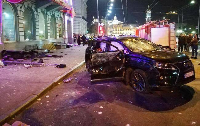 ДТП в Харькове на улице Сумской