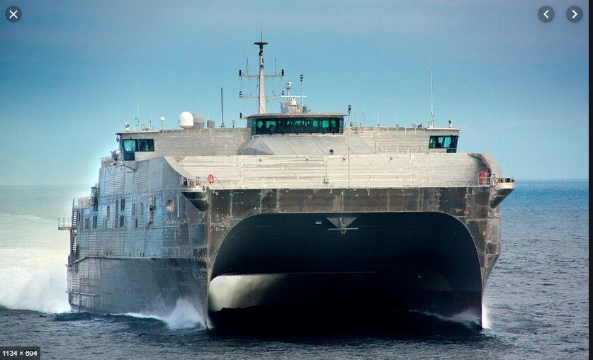 Катамаран USNS Yuma