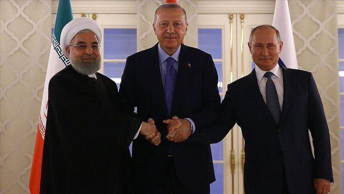 Рухани, Эрдоган и Путин
