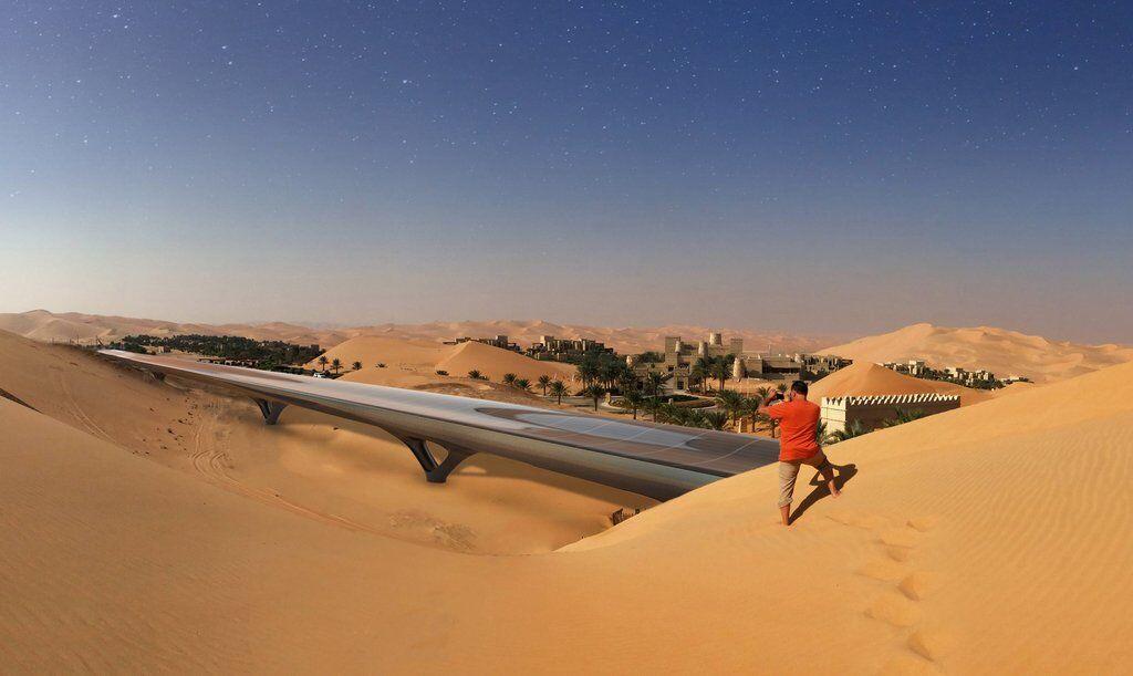 """В Китае создадут """"зеленую"""" версию гиперзвукового вакуумного Hyperloop"""