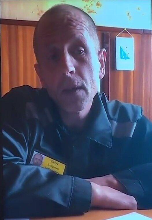 Владимир Балух во время заключения